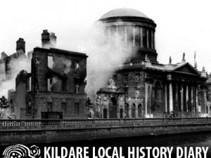 Ned Horan and the Four Courts fire of 1922 @ Teach Diarmada | Castledermot | County Kildare | Ireland
