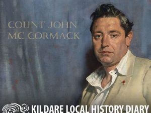 Chatting with Count John Mc Cormack @ Parish Meeting Room, Kill | Kill | County Kildare | Ireland