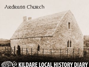 The medieval church at Ardrass in its wider context @ Celbridge Library | County Kildare | Ireland