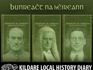 Three Men and a Constitution - the 1937 Irish Constitution @ Kildare Parish Centre | Kildare | County Kildare | Ireland