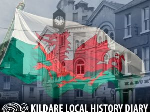 Raising of the Welsh Flag @ Naas Town Hall | County Kildare | Ireland